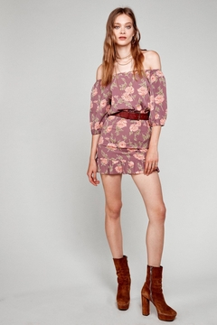 Flynn Skye Kristina Mauve Mini Dress - Product List Image