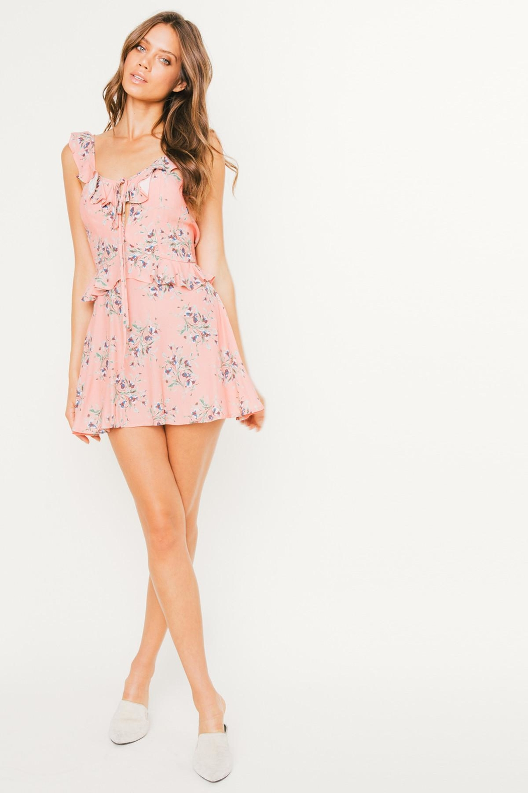 Flynn Skye Mimi Mini Dress - Side Cropped Image