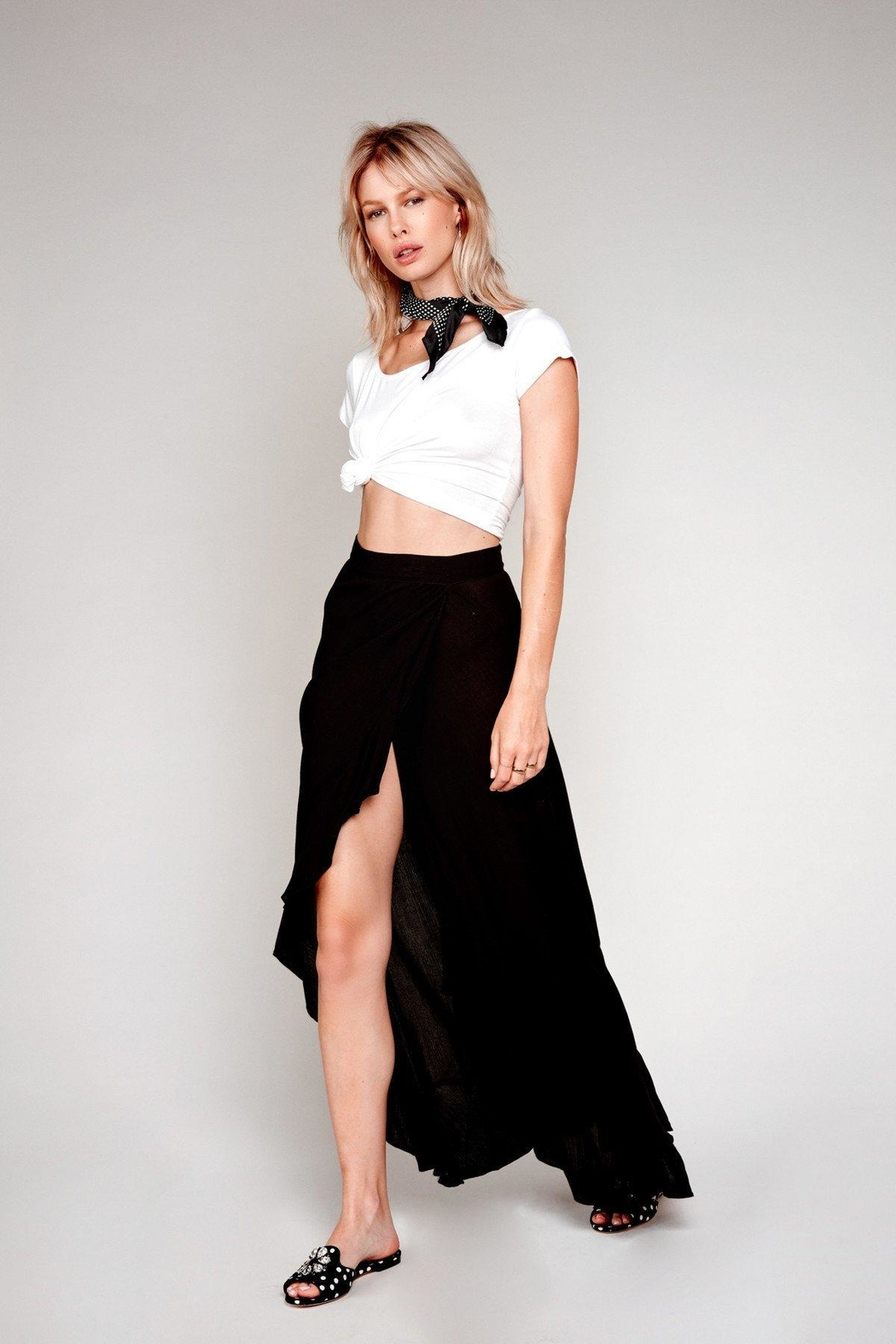 Flynn Skye Monica Maxi Skirt - Front Cropped Image