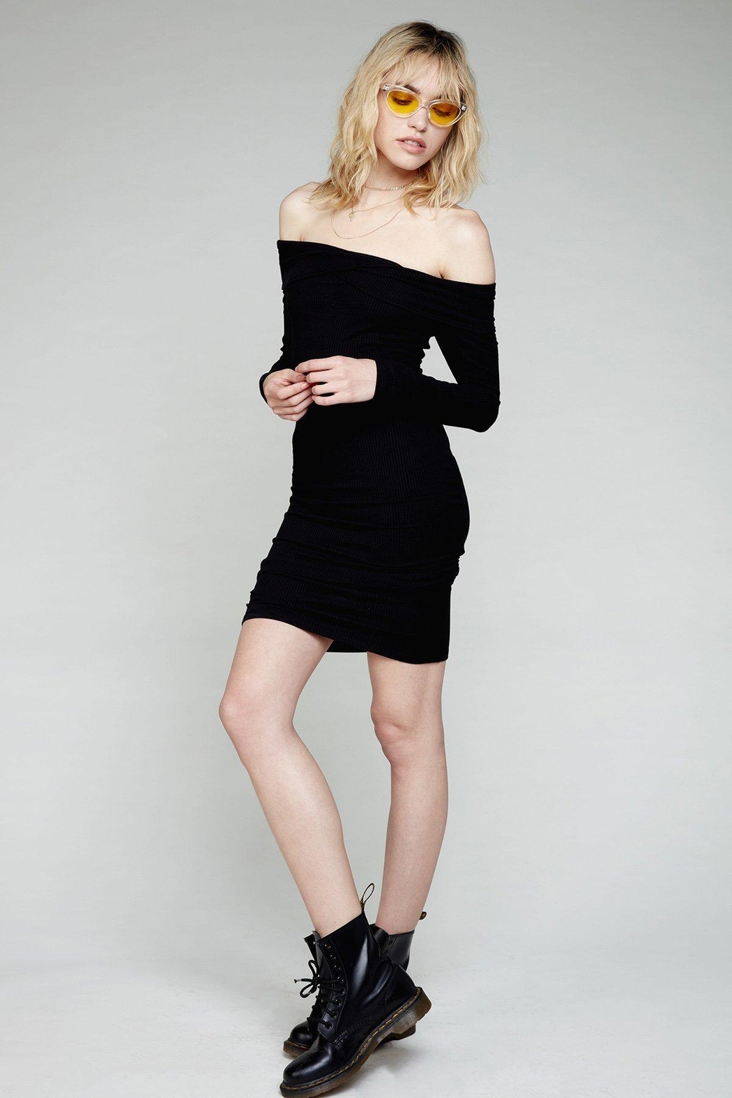 Flynn Skye Natasha Black Dress - Main Image