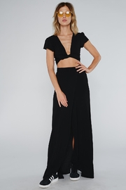 Flynn Skye Wrap Black Skirt - Product Mini Image