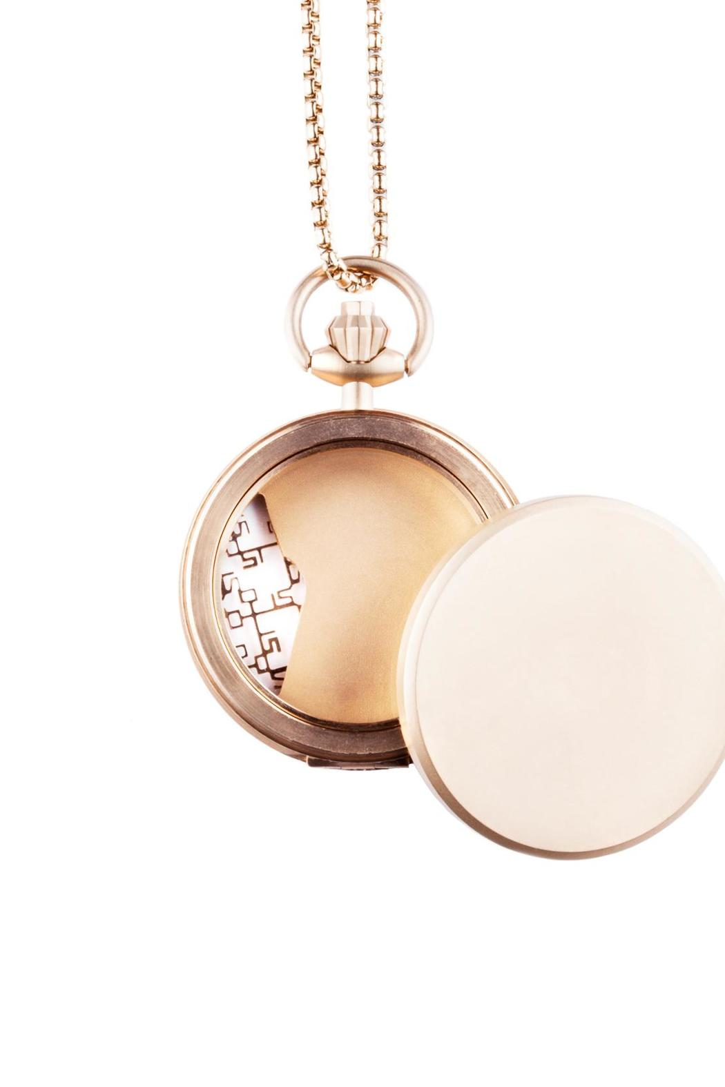 Fob Paris Mystery Locket Pendent - Side Cropped Image