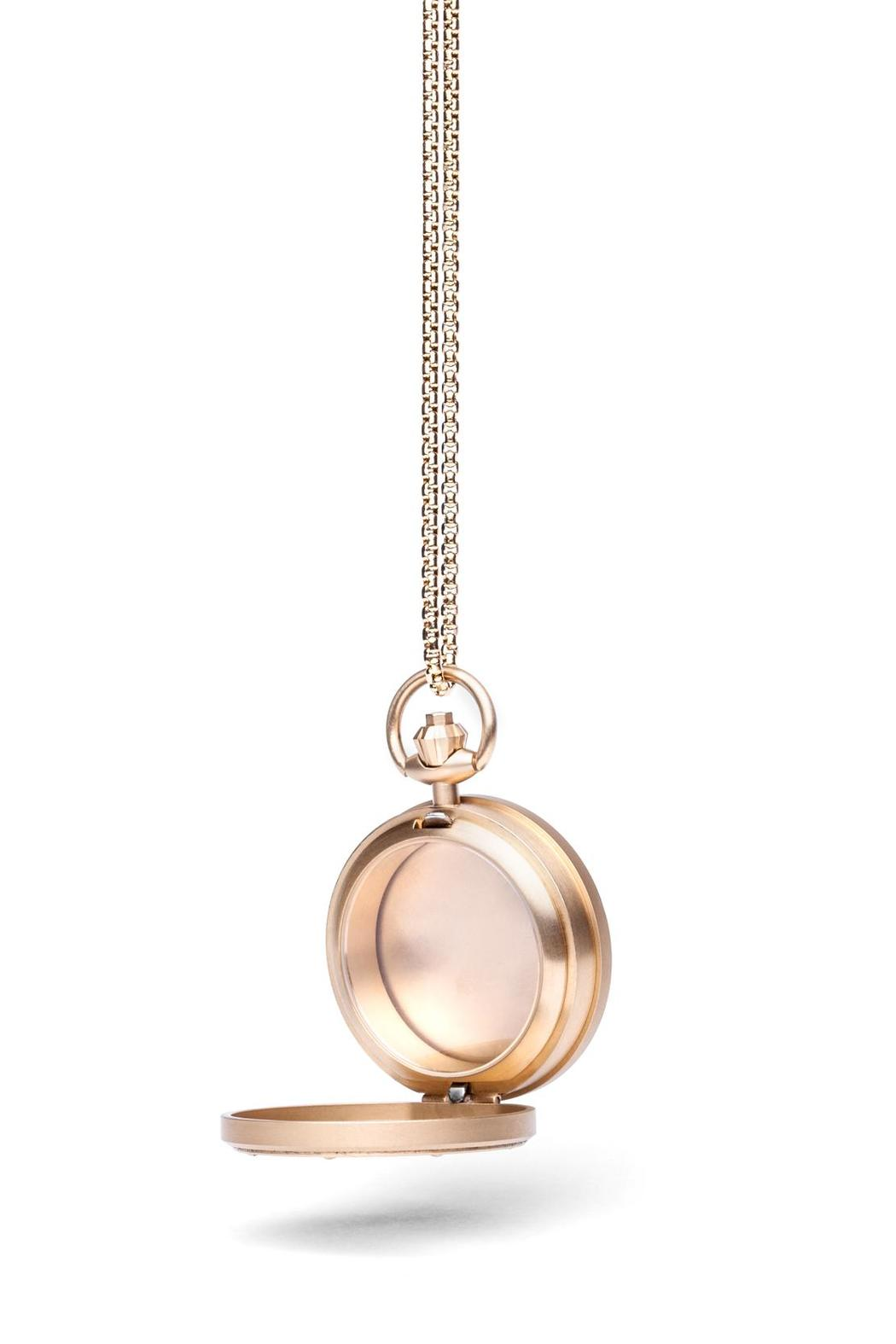 Fob Paris Mystery Locket Pendent - Front Full Image