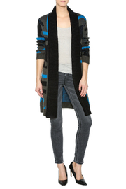Focus 2000 Long Cardigan Sweater - Front full body