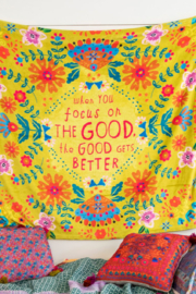 Natural Life Focus on Good Tapestry Blanket - Product Mini Image