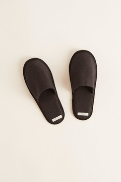 Shoptiques Product: Linen Unisex Slippers