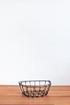 Fog Linen Work Oval Wire Basket - Product List Image