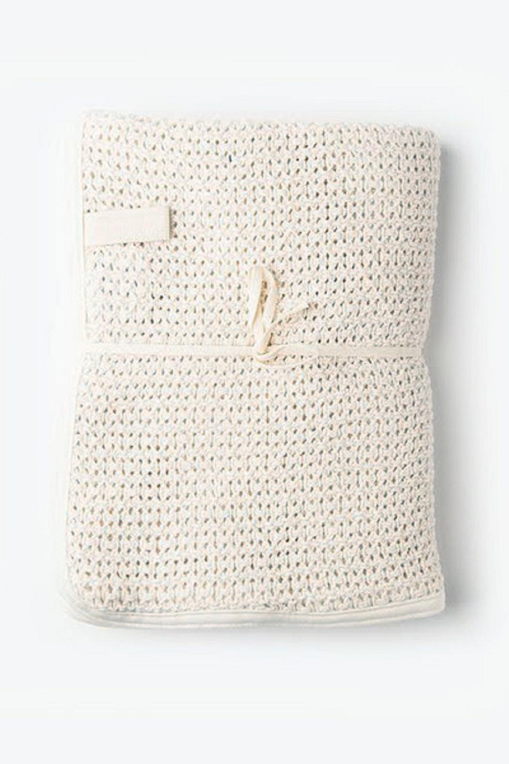 a394a3ca96 Fog Linen Work Woven Baby Blanket from Canada by Mikko Espresso ...