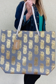 Caroline Hill Foil Pineapple Tote Bag - Product Mini Image