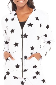 Terez Foil Star Hoodie - Product Mini Image