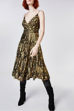Nicole Miller Foiled Camo Dress - Alternate List Image