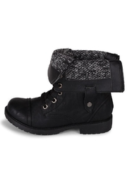 Wanted Fold-Over Combat Bootie - Front full body