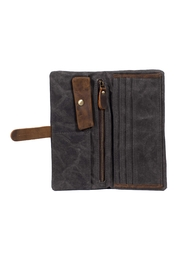 Acacia Fold Over Wallet - Side cropped