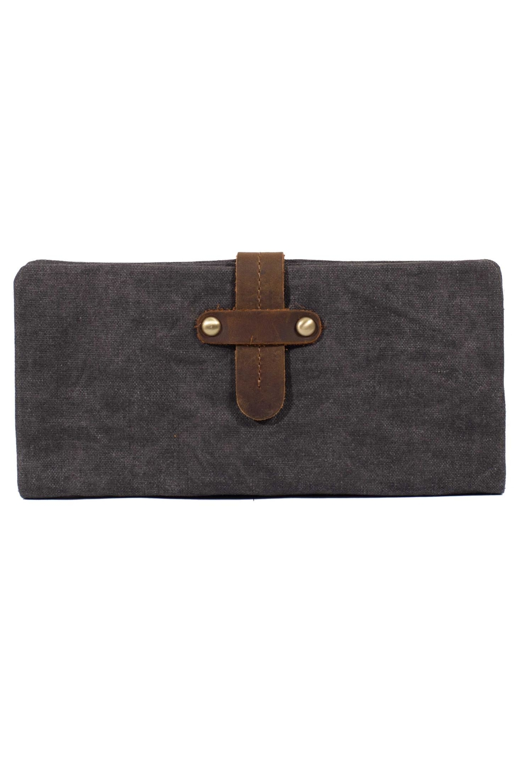 Acacia Fold Over Wallet - Front Cropped Image