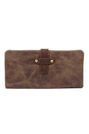 Acacia Fold Over Wallet - Front cropped