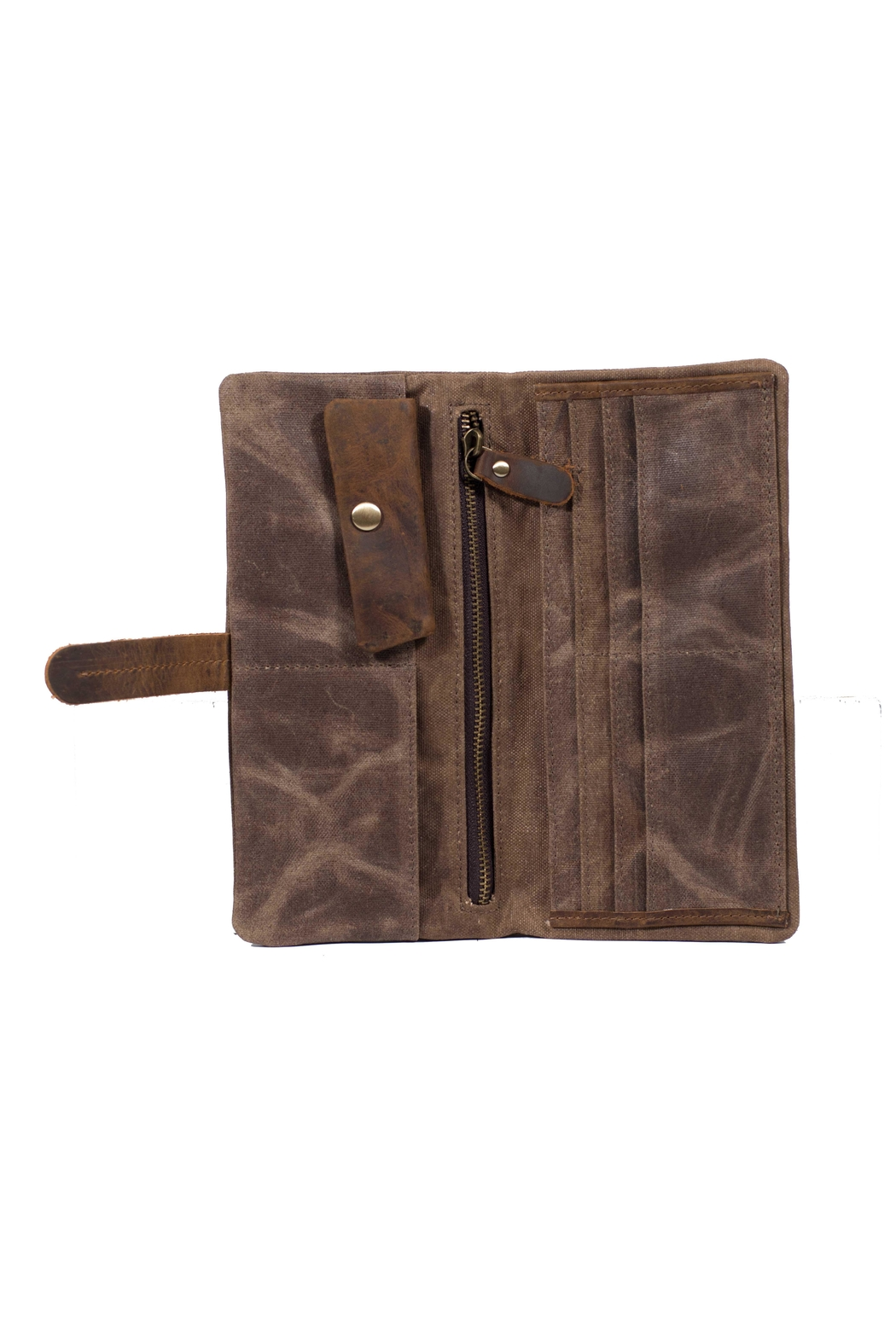 Acacia Fold Over Wallet - Back Cropped Image