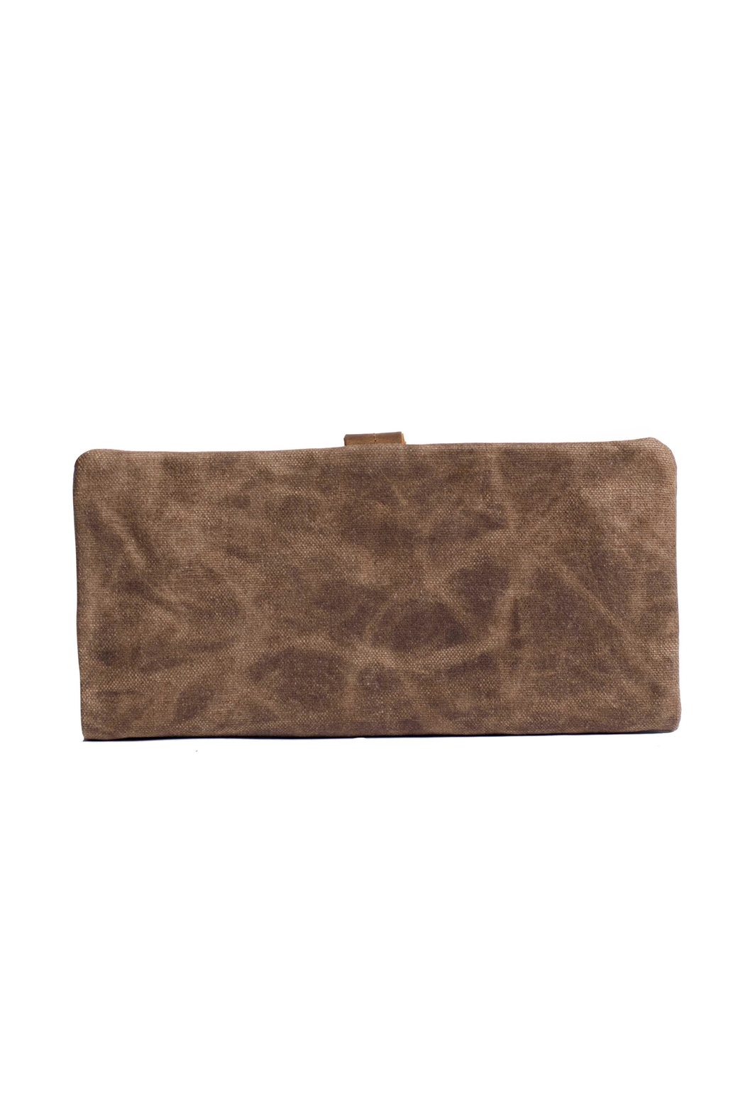 Acacia Fold Over Wallet - Front Full Image