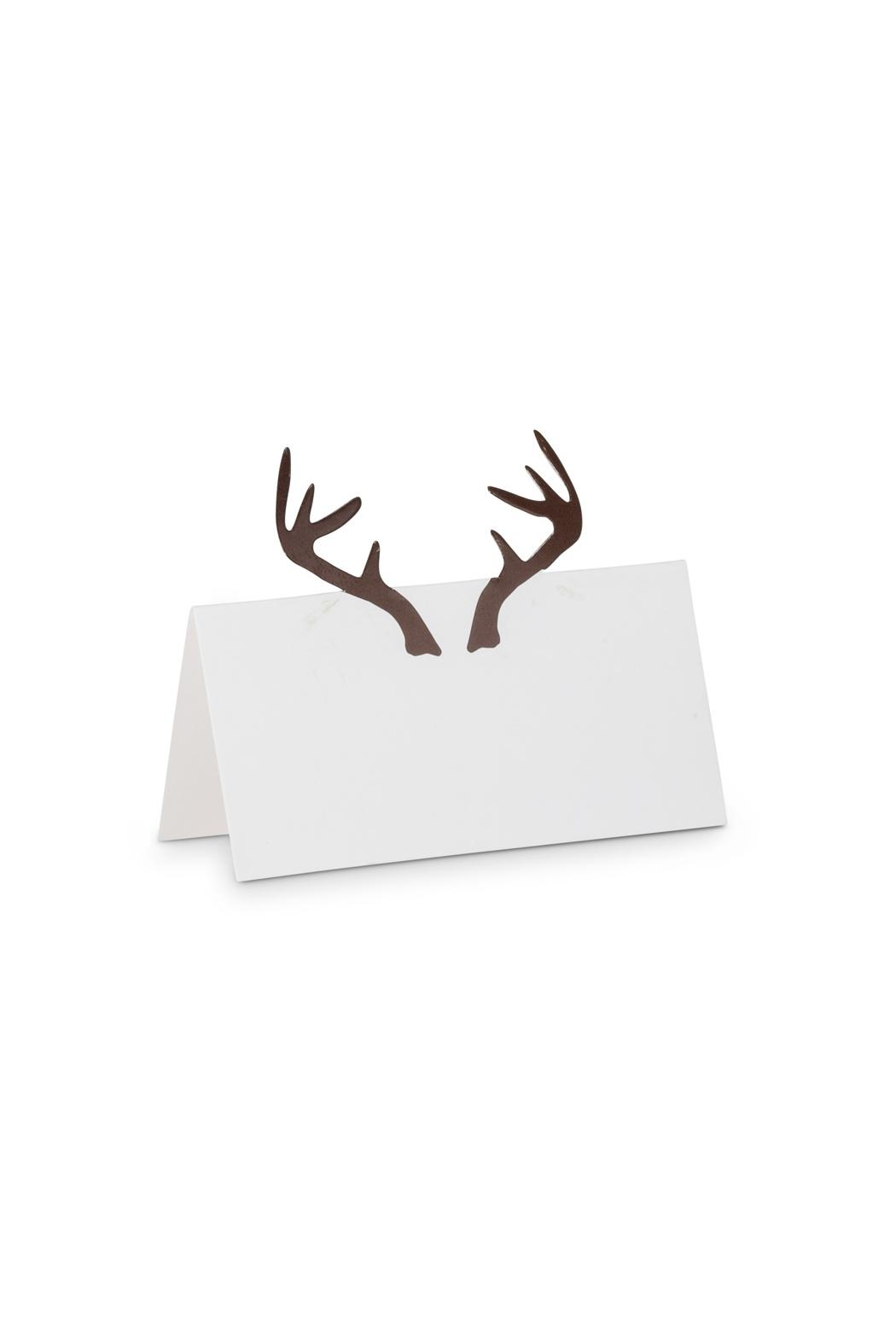 Abbott Collection Folded Antler Placecards - Main Image