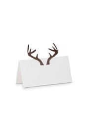Abbott Collection Folded Antler Placecards - Product Mini Image