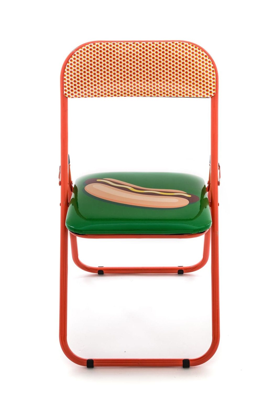 Seletti Folding Chair Hotdog - Front Cropped Image