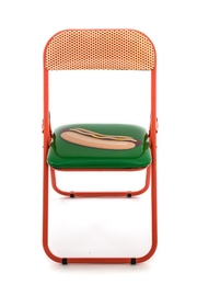 Seletti Folding Chair Hotdog - Front cropped