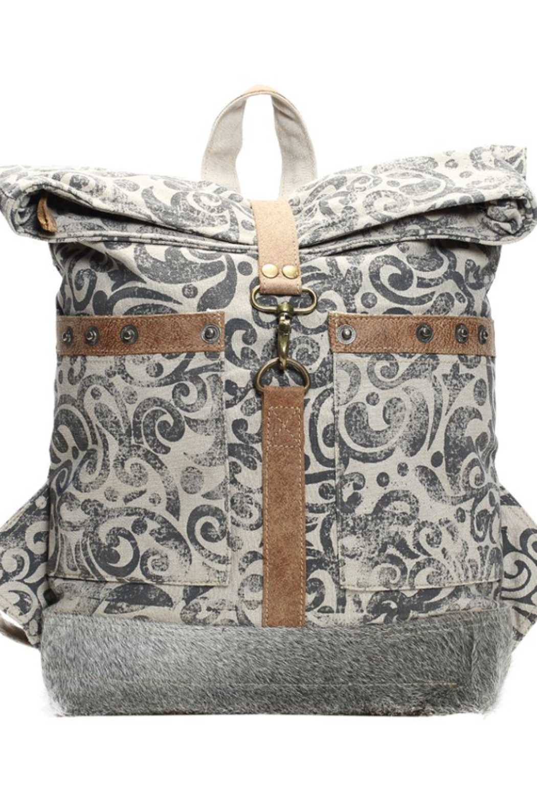 Myra bag  FOLDOVER BACKPACK BAG - Front Cropped Image