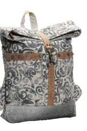 Myra bag  Myra Bag Canvas Foldover Backpack - Product Mini Image