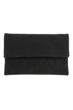 joseph d'arezzo Foldover Braided Clutch - Product List Image