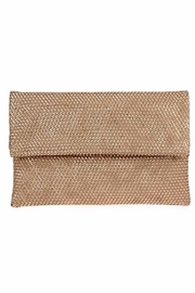 joseph d'arezzo Foldover Braided Clutch - Product Mini Image