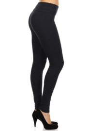 T-Party  Foldover top legging - Front cropped