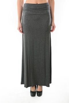 T Party Foldover Waist Maxi Skirt - Product List Image