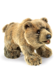 Folkmanis Grizzly-Bear Hand Puppet - Product Mini Image