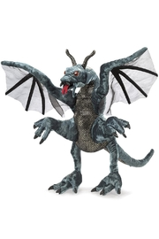 Folkmanis Jabberwock Hand Puppet - Front cropped