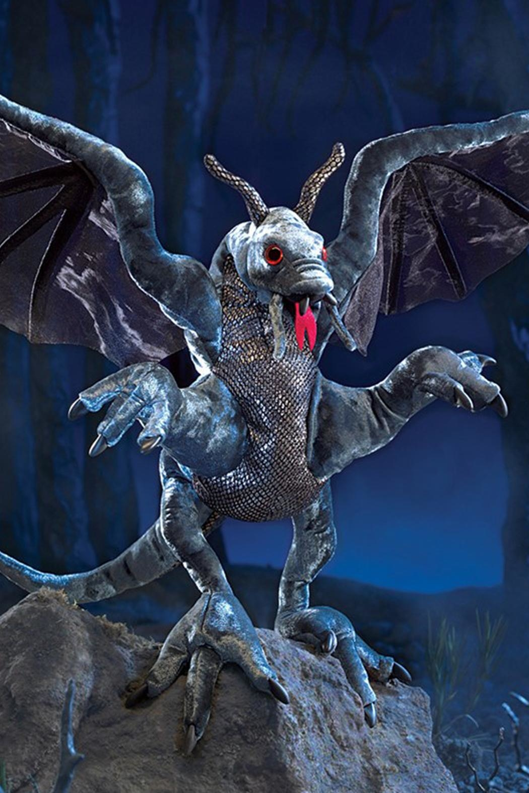 Folkmanis Jabberwock Hand Puppet - Side Cropped Image