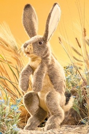Folkmanis Jackrabbit Hand Puppet - Side cropped