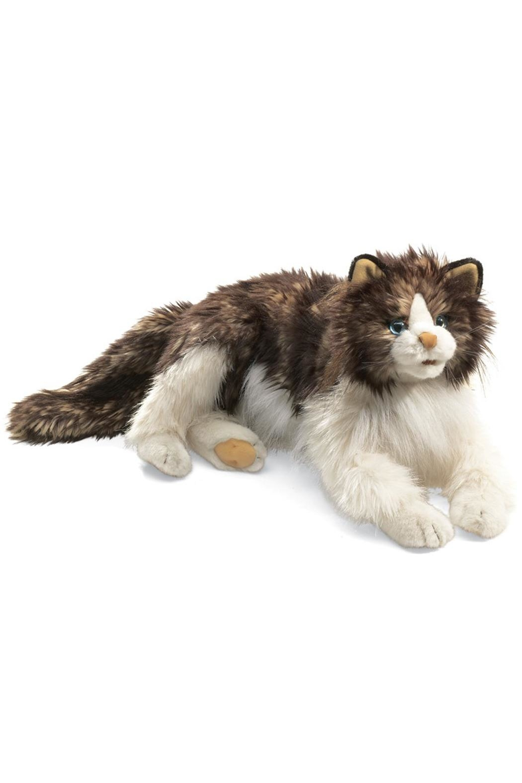 Folkmanis Ragdoll-Cat Hand Puppet - Front Cropped Image