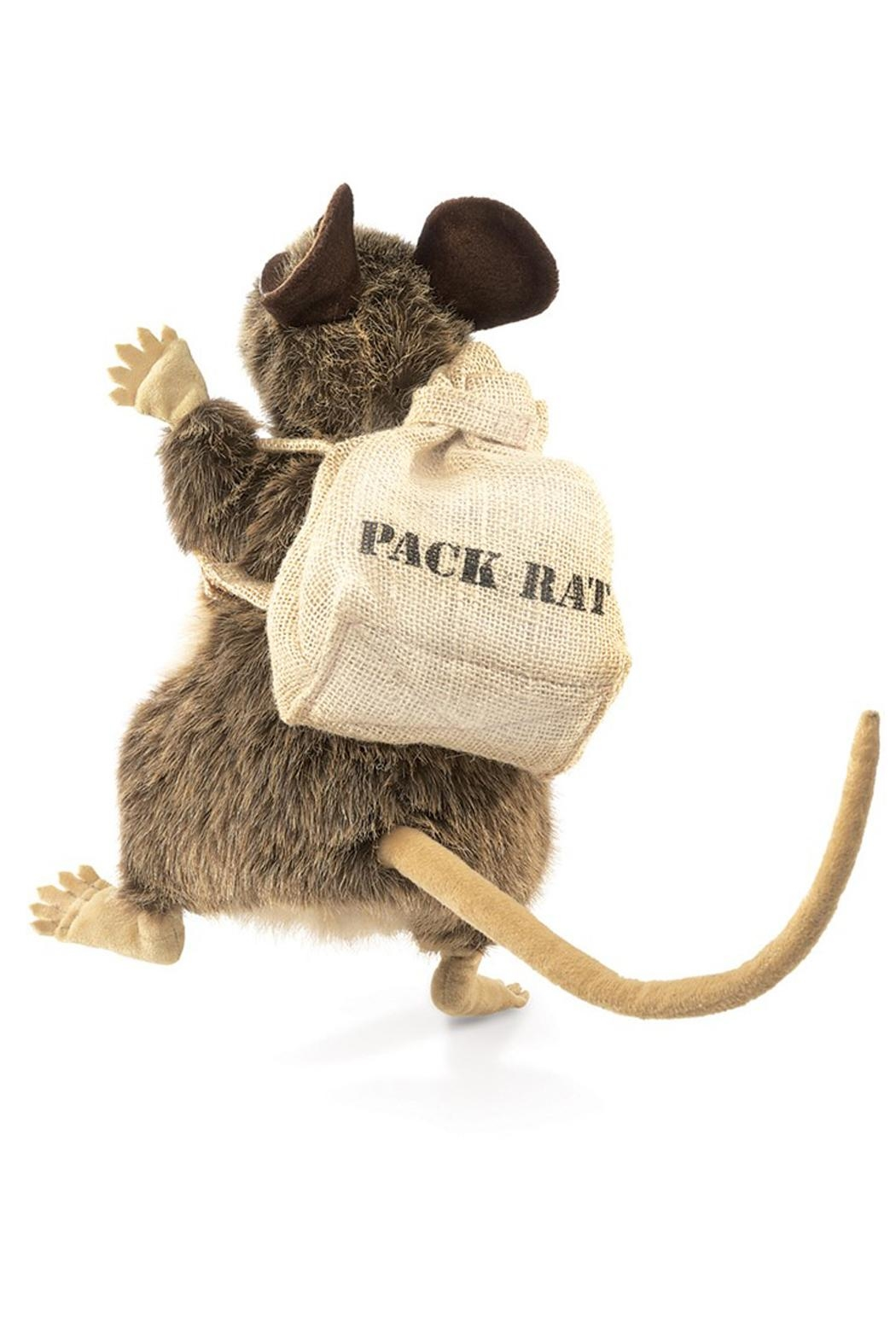 Folkmanis Rat-Pack Hand Puppet - Front Full Image