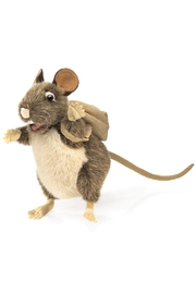 Folkmanis Rat-Pack Hand Puppet - Front cropped