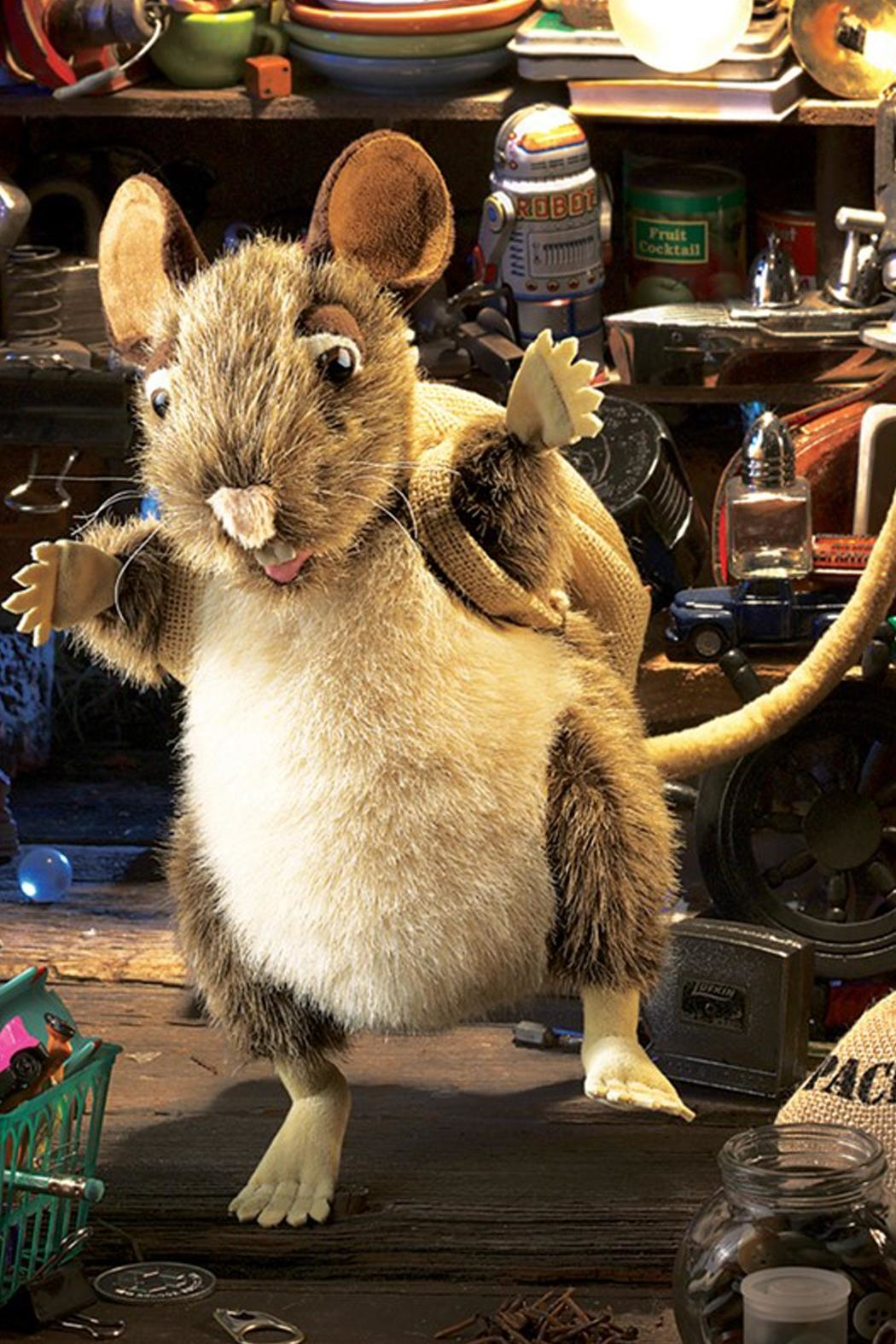 Folkmanis Rat-Pack Hand Puppet - Back Cropped Image