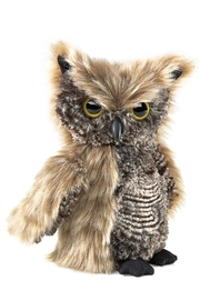 Folkmanis Screech-Owl Hand Puppet - Product Mini Image