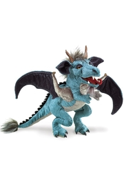 Folkmanis Sky-Dragon Hand Puppet - Front cropped