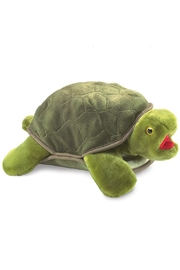 Folkmanis Turtle Hand Puppet - Front cropped