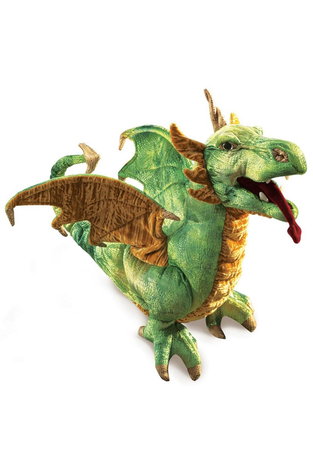 Folkmanis Wyvern-Dragon Hand Puppet - Main Image