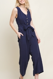 Umgee Follow Me Jumpsuit - Front cropped