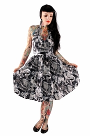 Folter Ghouls Halter Dress - Product Mini Image