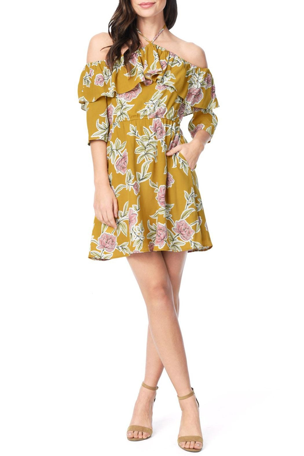 Cupcakes & Cashmere Fonda Dress - Front Cropped Image