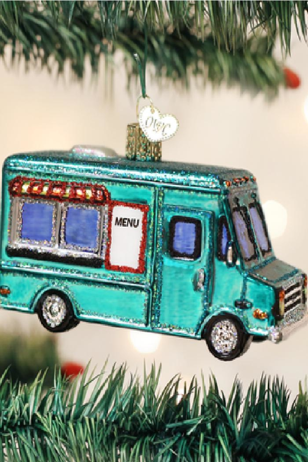 Old World Christmas Food Truck Ornament - Main Image