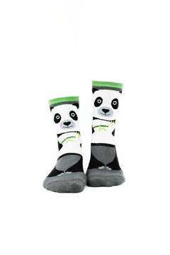 Shoptiques Product: Panda Slipper Socks