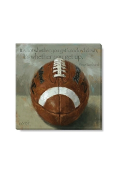 Sullivans Football Canvas Print - Alternate List Image