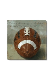 Sullivans Football Canvas Print - Product Mini Image
